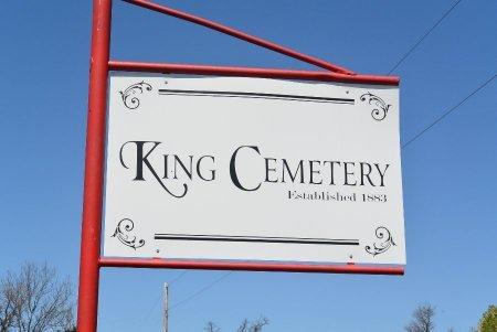 *, KING CEMETERY SIGN - Newton County, Missouri   KING CEMETERY SIGN * - Missouri Gravestone Photos