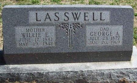 LASSWELL, GEORGE A. - Newton County, Missouri | GEORGE A. LASSWELL - Missouri Gravestone Photos