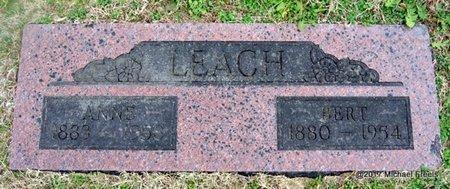 LEACH, BERT - Newton County, Missouri   BERT LEACH - Missouri Gravestone Photos