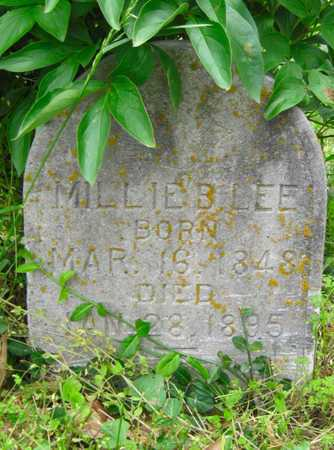 LEE, MILLIE B - Newton County, Missouri | MILLIE B LEE - Missouri Gravestone Photos