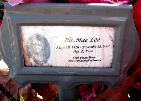 MELLS LEE, ILA MAE - Newton County, Missouri | ILA MAE MELLS LEE - Missouri Gravestone Photos