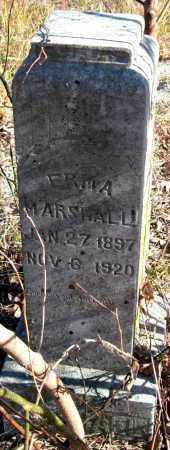 MARSHALL, ERMA - Newton County, Missouri   ERMA MARSHALL - Missouri Gravestone Photos