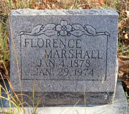 MARSHALL, FLORENCE - Newton County, Missouri | FLORENCE MARSHALL - Missouri Gravestone Photos
