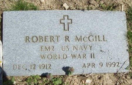 MCGILL, ROBERT R (VETERAN WWII) - Newton County, Missouri | ROBERT R (VETERAN WWII) MCGILL - Missouri Gravestone Photos