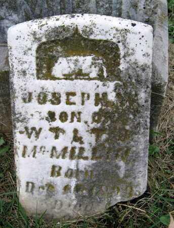 MCMILLIN, JOSEPH - Newton County, Missouri   JOSEPH MCMILLIN - Missouri Gravestone Photos