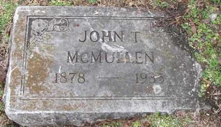 MCMULLEN, JOHN THOMAS - Newton County, Missouri | JOHN THOMAS MCMULLEN - Missouri Gravestone Photos