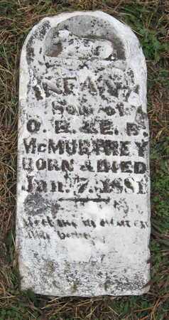 MCMURTREY, INFANT SON - Newton County, Missouri   INFANT SON MCMURTREY - Missouri Gravestone Photos