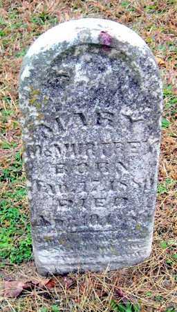 MCMURTREY, MARY - Newton County, Missouri | MARY MCMURTREY - Missouri Gravestone Photos