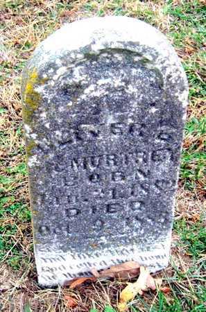 MCMURTREY, OLIVER B JR - Newton County, Missouri   OLIVER B JR MCMURTREY - Missouri Gravestone Photos