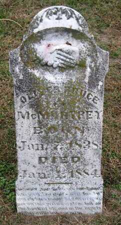 MCMURTREY, OLIVER BRUCE - Newton County, Missouri | OLIVER BRUCE MCMURTREY - Missouri Gravestone Photos