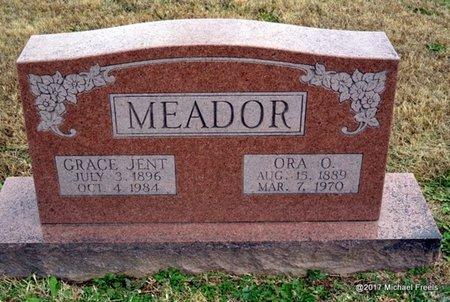 MEADOR, ORA O. - Newton County, Missouri | ORA O. MEADOR - Missouri Gravestone Photos