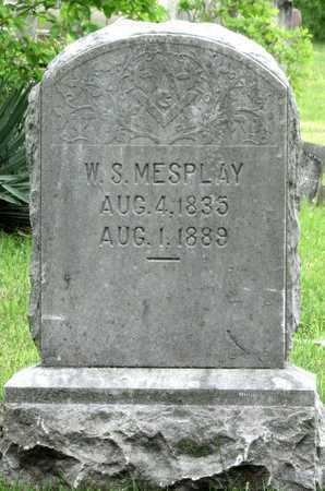 MESPLAY, WILLIAM SULLIVAN IGNATIUS - Newton County, Missouri | WILLIAM SULLIVAN IGNATIUS MESPLAY - Missouri Gravestone Photos