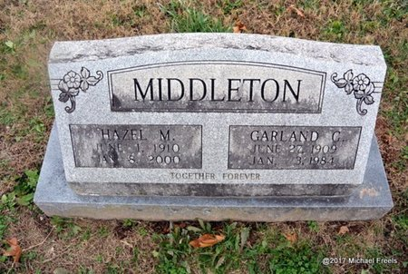 MIDDLETON, HAZEL M. - Newton County, Missouri | HAZEL M. MIDDLETON - Missouri Gravestone Photos