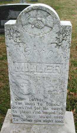 MILLER, ISAAC - Newton County, Missouri | ISAAC MILLER - Missouri Gravestone Photos
