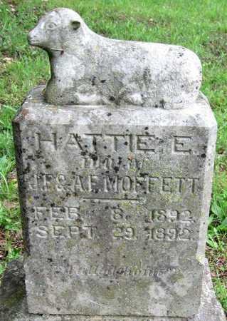 MOFFETT, HATTIE E - Newton County, Missouri   HATTIE E MOFFETT - Missouri Gravestone Photos