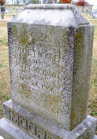 MOORE, ADDIE T - Newton County, Missouri   ADDIE T MOORE - Missouri Gravestone Photos
