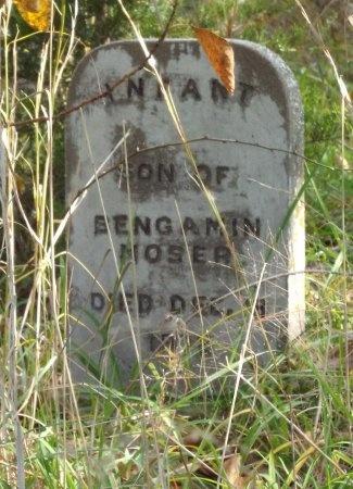 MOSER, INFANT SON - Newton County, Missouri   INFANT SON MOSER - Missouri Gravestone Photos