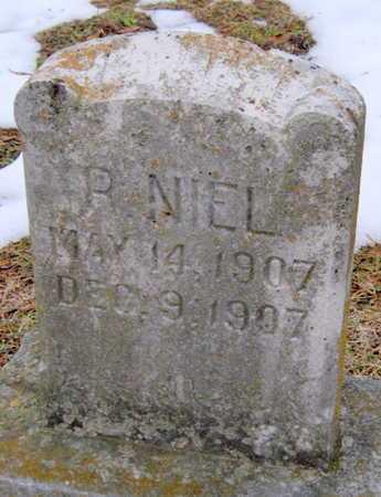 NIEL, ERNEST ROBERT - Newton County, Missouri | ERNEST ROBERT NIEL - Missouri Gravestone Photos
