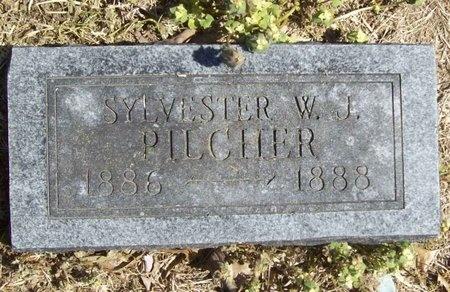 PILCHER, SYLVESTER W.J. - Newton County, Missouri | SYLVESTER W.J. PILCHER - Missouri Gravestone Photos
