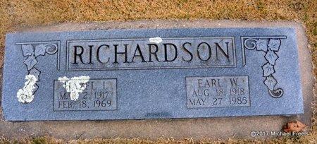 RICHARDSON, EARL W. - Newton County, Missouri | EARL W. RICHARDSON - Missouri Gravestone Photos