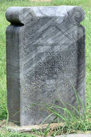 SANDERS, ETHEL - Newton County, Missouri | ETHEL SANDERS - Missouri Gravestone Photos