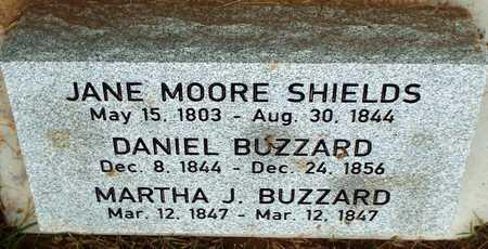 BUZZARD, MARTHA J - Newton County, Missouri | MARTHA J BUZZARD - Missouri Gravestone Photos