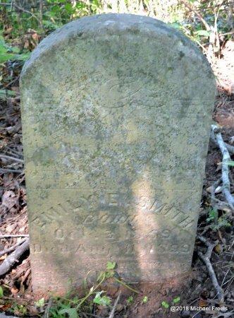SMITH, EMILY E. - Newton County, Missouri | EMILY E. SMITH - Missouri Gravestone Photos