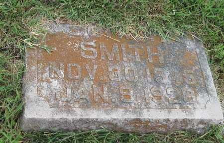 SMITH, JOHN H - Newton County, Missouri | JOHN H SMITH - Missouri Gravestone Photos