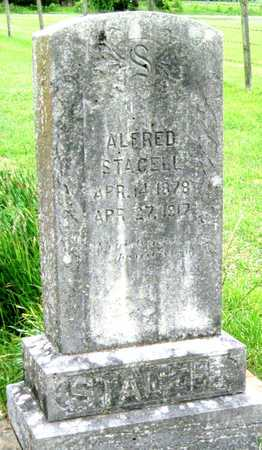 STACELL, ALFRED - Newton County, Missouri | ALFRED STACELL - Missouri Gravestone Photos