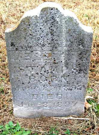 STAMPS, VERETTY - Newton County, Missouri | VERETTY STAMPS - Missouri Gravestone Photos