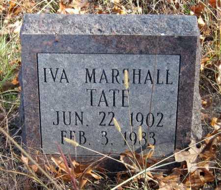 TATE, IVA - Newton County, Missouri | IVA TATE - Missouri Gravestone Photos