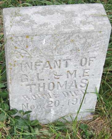 THOMAS, INFANT - Newton County, Missouri   INFANT THOMAS - Missouri Gravestone Photos