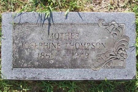 THOMPSON, JOSEPHINE - Newton County, Missouri | JOSEPHINE THOMPSON - Missouri Gravestone Photos
