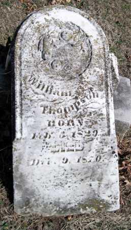 THOMPSON, WILLIAM PEXTON - Newton County, Missouri   WILLIAM PEXTON THOMPSON - Missouri Gravestone Photos