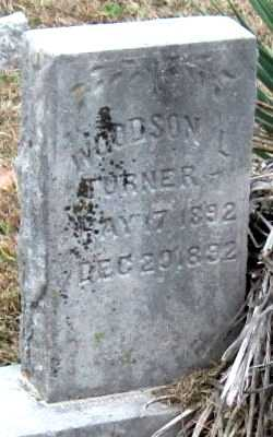 TURNER, WOODSON L - Newton County, Missouri | WOODSON L TURNER - Missouri Gravestone Photos