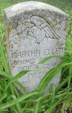TYLER, MARTHA ELLEN - Newton County, Missouri | MARTHA ELLEN TYLER - Missouri Gravestone Photos