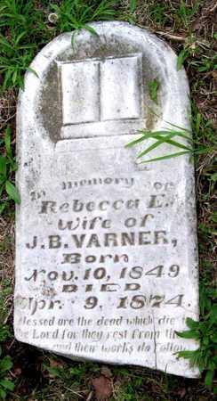 VARNER, REBECCA L - Newton County, Missouri | REBECCA L VARNER - Missouri Gravestone Photos