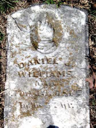 WILLIAMS, DANIEL J - Newton County, Missouri | DANIEL J WILLIAMS - Missouri Gravestone Photos