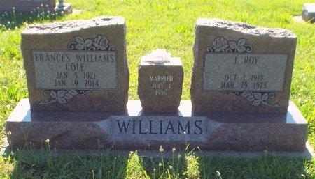 WILLIAMS, ROY - Newton County, Missouri | ROY WILLIAMS - Missouri Gravestone Photos