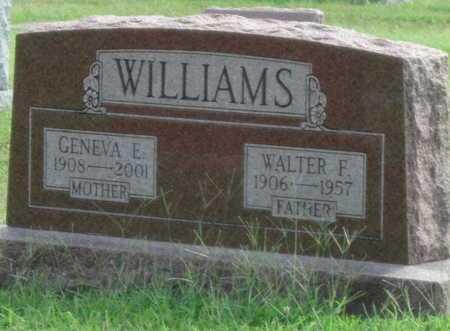 WILLIAMS, WALTER - Newton County, Missouri | WALTER WILLIAMS - Missouri Gravestone Photos