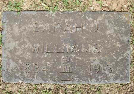 WILLIAMS, SARAH JANE - Newton County, Missouri | SARAH JANE WILLIAMS - Missouri Gravestone Photos