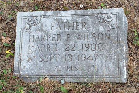 WILSON, HARPER FRANCIS - Newton County, Missouri   HARPER FRANCIS WILSON - Missouri Gravestone Photos