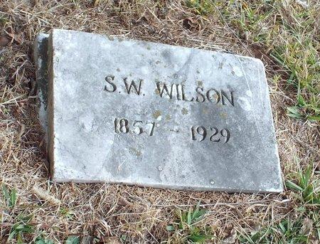WILSON, SAMUEL WILEY - Newton County, Missouri | SAMUEL WILEY WILSON - Missouri Gravestone Photos