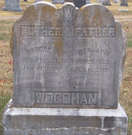 WOGOMAN, BENGAMIN - Newton County, Missouri   BENGAMIN WOGOMAN - Missouri Gravestone Photos