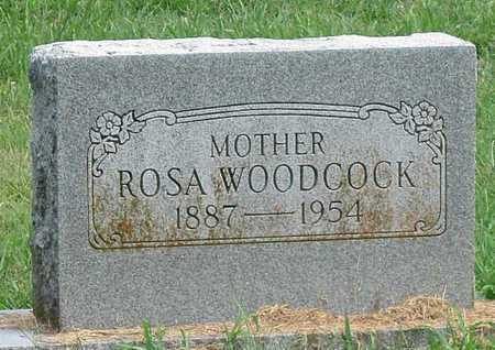 WOODCOCK, ROSA E - Newton County, Missouri | ROSA E WOODCOCK - Missouri Gravestone Photos