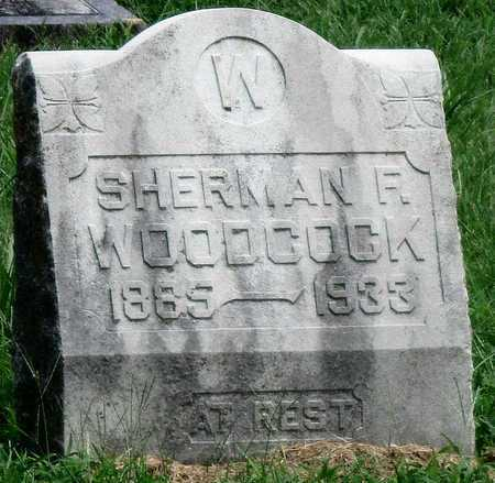 WOODCOCK, SHERMAN F - Newton County, Missouri | SHERMAN F WOODCOCK - Missouri Gravestone Photos