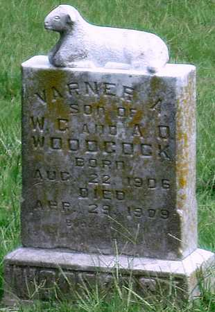 WOODCOCK, VARNER A - Newton County, Missouri | VARNER A WOODCOCK - Missouri Gravestone Photos