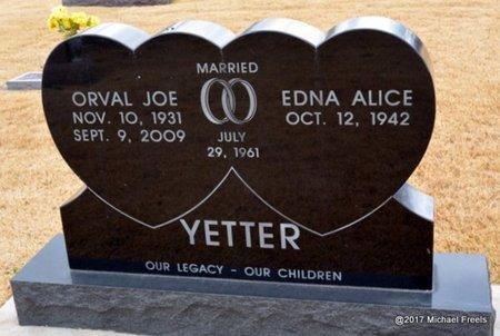 YETTER, ORVAL JOE - Newton County, Missouri   ORVAL JOE YETTER - Missouri Gravestone Photos