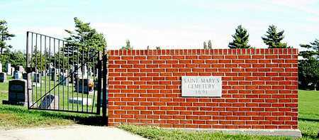 *, CEMETERY GATE - Nodaway County, Missouri | CEMETERY GATE * - Missouri Gravestone Photos