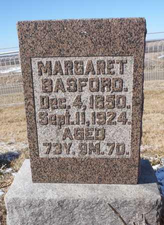 FRAWLEY BASFORD, MARGARET - Nodaway County, Missouri | MARGARET FRAWLEY BASFORD - Missouri Gravestone Photos